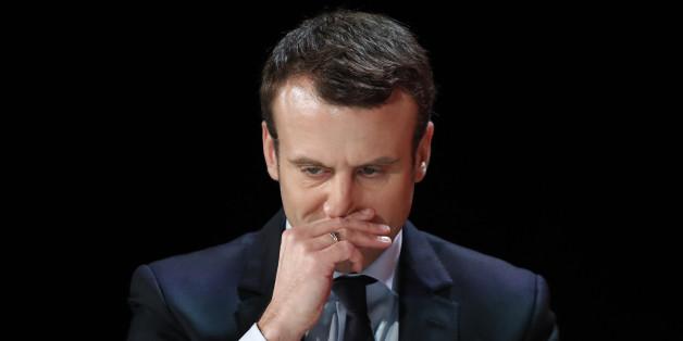 Kann er Europa retten? Frankreichs Präsidentschaftshoffnung Immanuel Macron