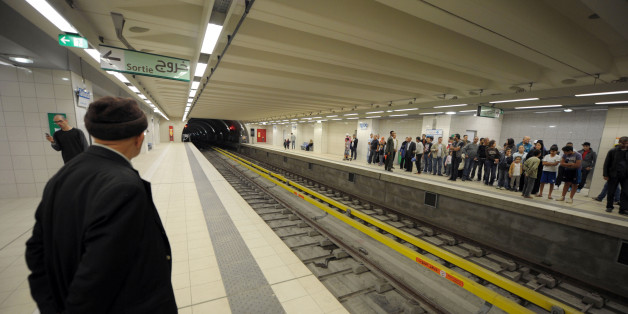 Algeria, Algiers: underground / subway station. (Photo by: Andia/UIG via Getty Images)