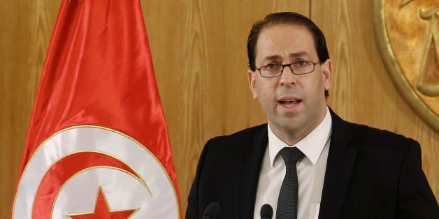 Tunesien Premierminister Youssef Chahed wird heute Merkel treffen