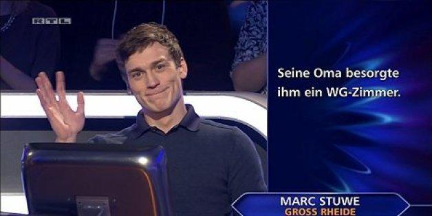 """Marc Stuwe bei """"Wer wird Millionär"""""""