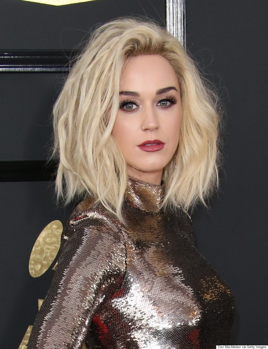 katy perry haircut