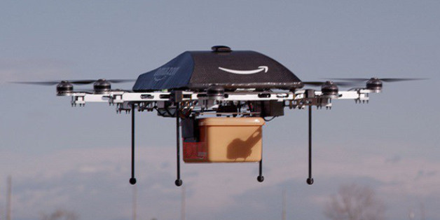 Amazaon will Pakete mit Fallschirmen ausliefern