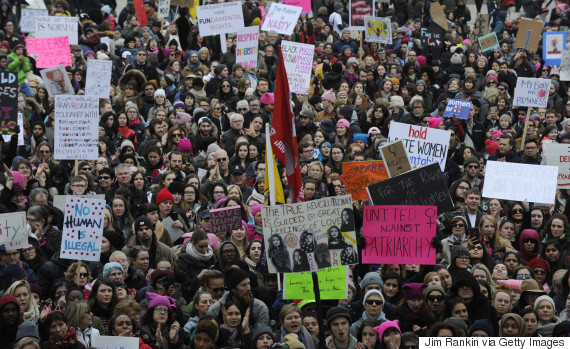 toronto womens march