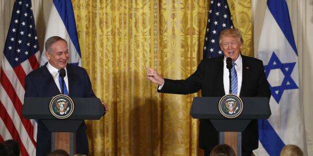Trump und Netanjahu bei der gemeinsamen Pressekonferenz