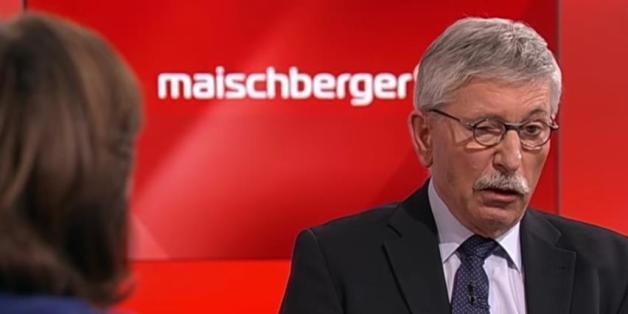 """Thilo Sarazzin zeigt bei """"Maischberger"""", warum er der bessere Trump wäre"""