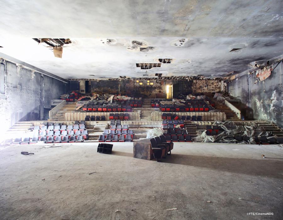 Le Théâtre Empress: debout malgré tout