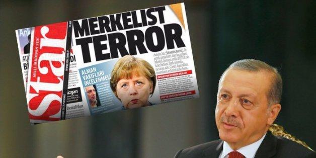 """""""Merkel-Terror"""": Türkische Zeitung greift Bundesregierung nach Ditib-Razzien ab"""