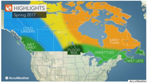 canada spring forecast