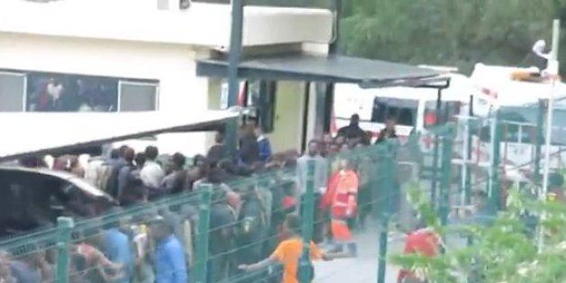 Plus de 500 migrants ont franchi la clôture entre le Maroc et Sebta