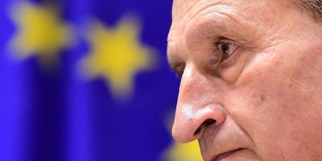 """Oettinger warnt Griechen vor Euroaustritt: """"Keine Bank der Welt würde ihnen dann noch Geld geben"""""""