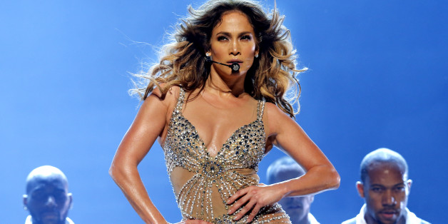 ROTTERDAM, NETHERLANDS - OCTOBER 29: Jennifer Lopez performs on stage at Ahoy on October 29, 2012 in Rotterdam, Netherlands. (Photo by Rob Verhorst/WireImage)