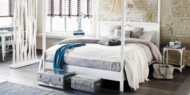 10 id es pour booster la d co de sa chambre coucher al huffpost maghreb. Black Bedroom Furniture Sets. Home Design Ideas