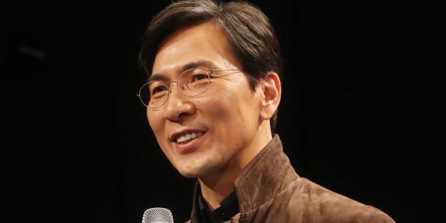 안희정 충남지사가 18일 오후 강남 일지아트홀에서 'Young CEO와 즉문즉답'에 참석해 인사말을 하고 있다.