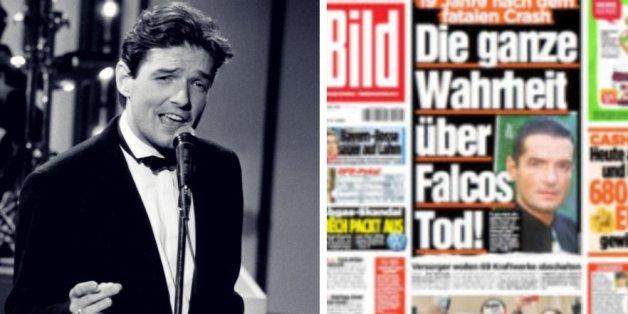 """""""Alles frei erfunden"""" - die """"Bild"""" blamiert sich mit Fake News über Falco"""