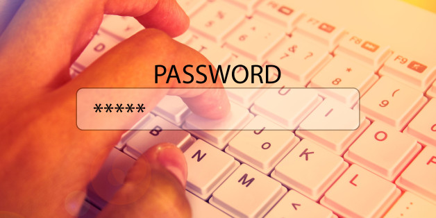 A set of the password for the browser Internet