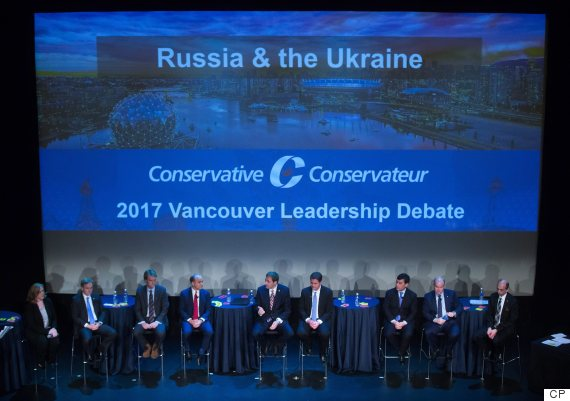 tory leadership debate vancouver