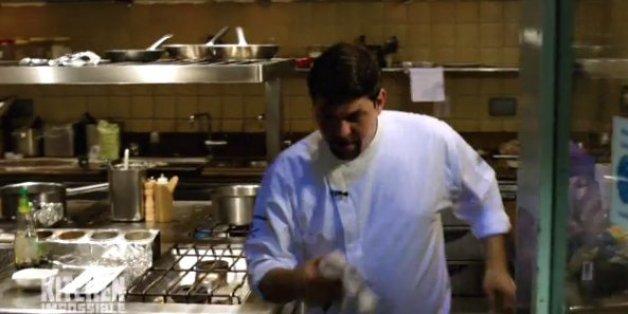 """Tim Mälzer gerät bei """"Kitchen Impossible"""" an seine Grenzen."""