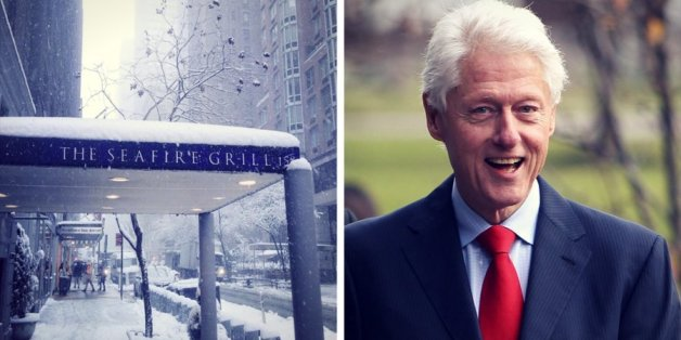In einem New Yorker Restaurant rührte ein Kellner Bill Clinton zu Tränen.