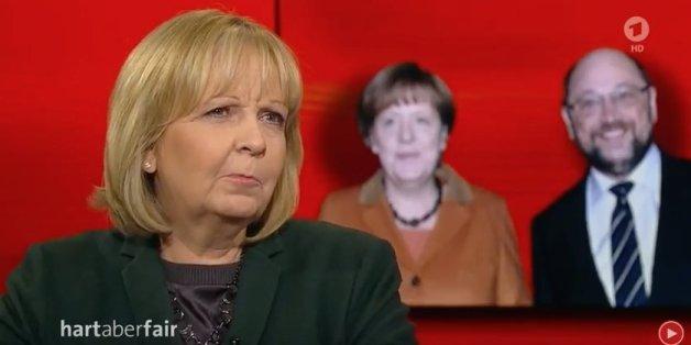 """SPD-Politikerin Kraft verrät bei """"Hart aber Fair"""" schon im ersten Satz Martin Schulz' größte Schwäche"""