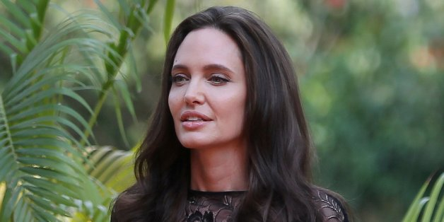 Actress Angelina Jolie arrives for a news conference at a hotel in Siem Reap province, Cambodia, February 18, 2017. REUTERS/Samrang Pring