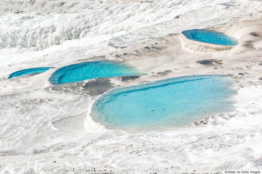 travertine pools at pamukkale