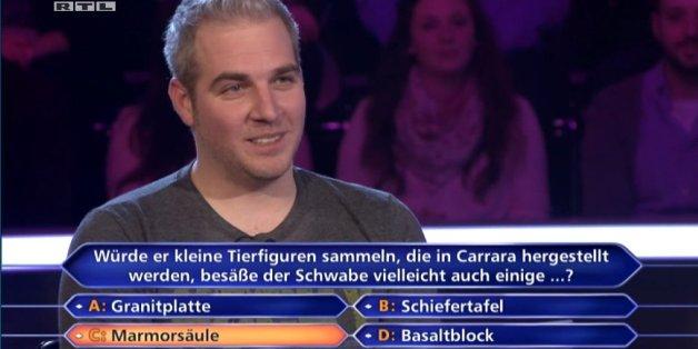 """""""Wer wird Millionär""""-Kandidat hat keine Ahnung bei dieser Schwäbisch-Frage"""