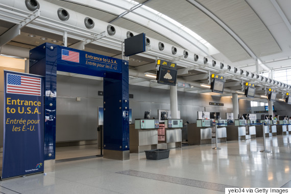 us customs canadian airport