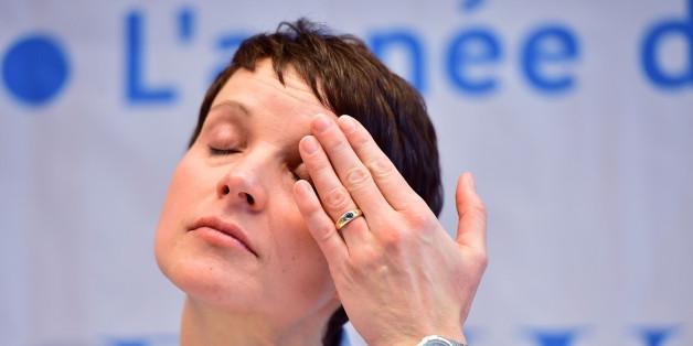 Frauke Petry muss ein neues Umfrage-Tief hinnehmen