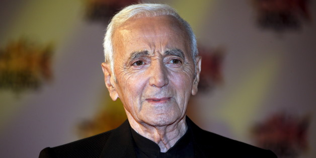 Charles Aznavour aux NRJ Music Awards à Cannes, France, novembre 2015