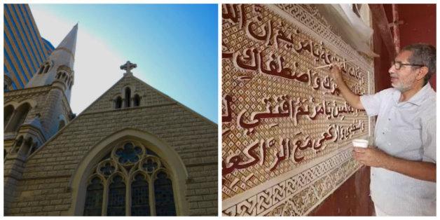 En Afrique du Sud, des artisans marocains décorent une ancienne église devenue mosquée