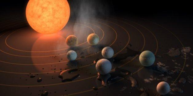Découverte de 7 exoplanètes de la taille de la Terre, une des meilleures chances de découvrir une vie extraterrestre