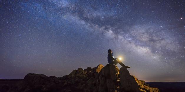 Aufnahme der Milchstraße, Quelle: Getty Images