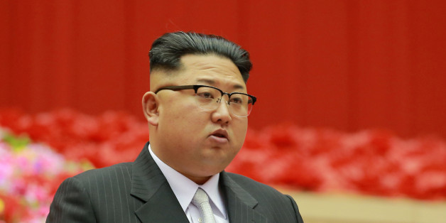 North Korean leader Kim Jong Un speaks during the first session of the first party committee meetingin Pyongyang, in this undated photo released by North Korea's Korean Central News Agency (KCNA) December 23, 2016. REUTERS/KCNA   ATTENTION EDITORS - THIS PICTURE WAS PROVIDED BY A THIRD PARTY. REUTERS IS UNABLE TO INDEPENDENTLY VERIFY THE AUTHENTICITY, CONTENT, LOCATION OR DATE OF THIS IMAGE. FOR EDITORIAL USE ONLY. NOT FOR SALE FOR MARKETING OR ADVERTISING CAMPAIGNS. NO THIRD PARTY SALES. NOT FO