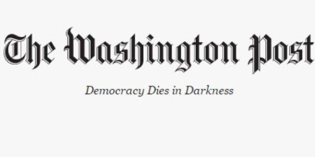 Le nouveau slogan du Washington Post contre Trump est très sombre