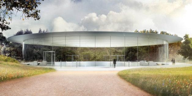 Situé dans la Silicon Valley, le nouveau campus d'Apple s'étend sur plus de 70 hectares.