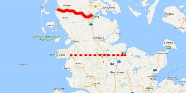 Dänemark Grenze
