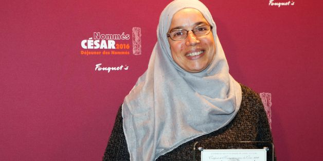 Algerian actress Soria Zeroual poses with her nomination certificate for Best Actress during the nominations event for the 2016 César film awards, on February 6, 2016 in Paris. The 41st Ceremony for the Cesar film award, considered as the highest film honour in France, will take place on February 26, 2016. / AFP / FRANCOIS GUILLOT        (Photo credit should read FRANCOIS GUILLOT/AFP/Getty Images)