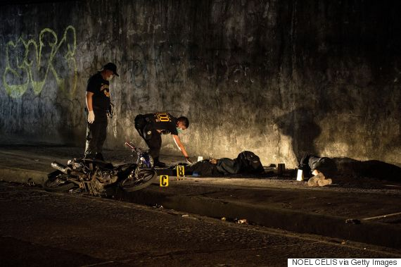 philippines police drug