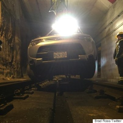 toronto streetcar tunnel