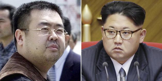 Kim Jong Nam (links) ist der Halbbruder des Diktators Kim-Jong Un (rechts)