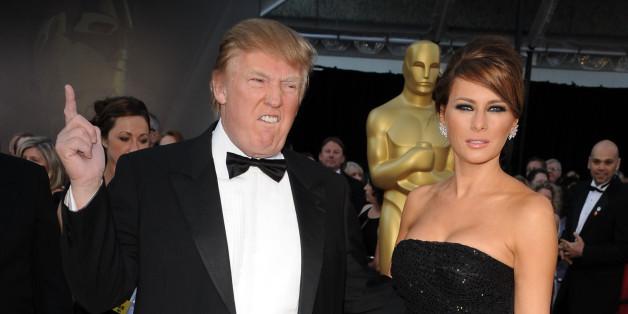 Donald und Melania Trump bei den Academy Awards im Jahr 2011