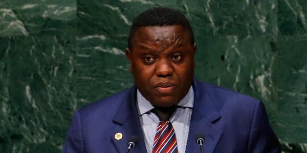 Le ministre des Affaires étrangères de la Zambie, Harry Kalaba