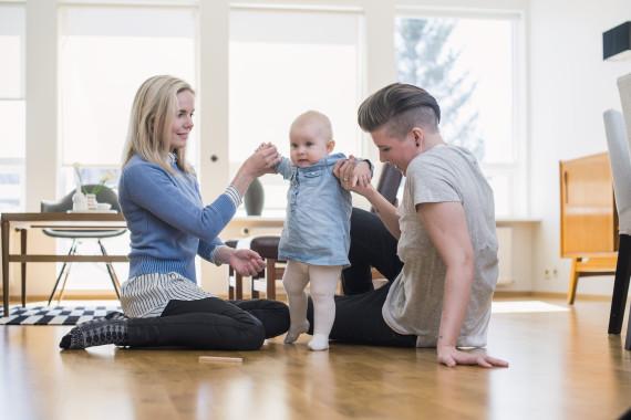 adopting baby