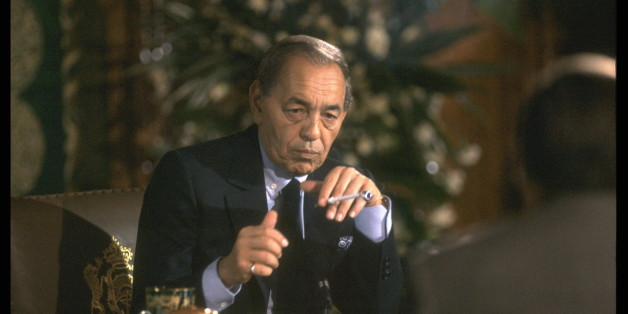 (Original Caption) Portrait of King Hassan II. (Photo by Patrick ROBERT/Sygma via Getty Images)