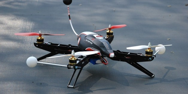 test upair drone