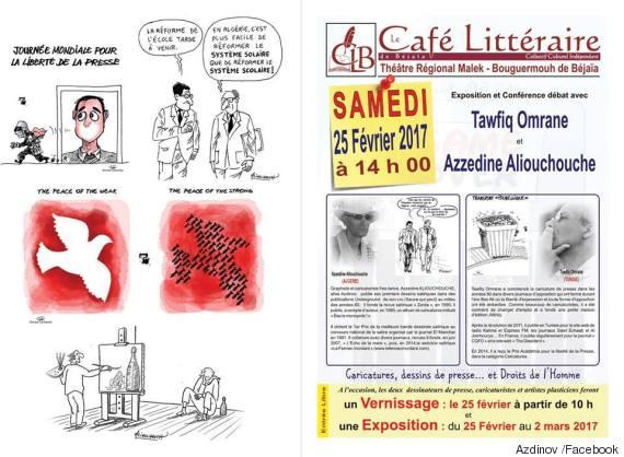 tunisie caricature