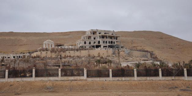 Une vue de Palmyre reprise le 2 mars par l'armée syrienne / Image de presse fournie par l'agence de presse officielle syrienne SANA