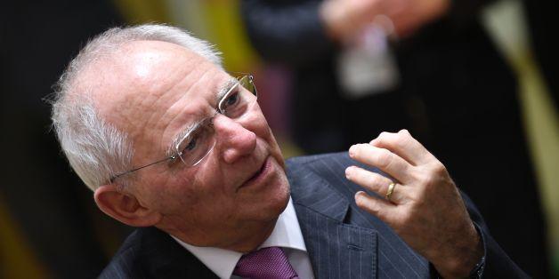 Der deutsche Finanzminister Wolfgang Schäuble