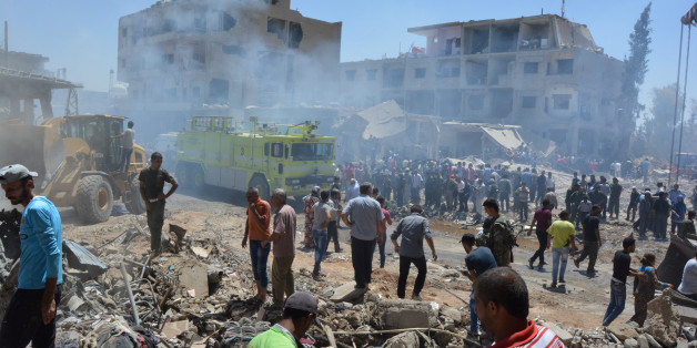 Double attentat suicide en Syrie revendiqué par Daech, 1er novembre 2016