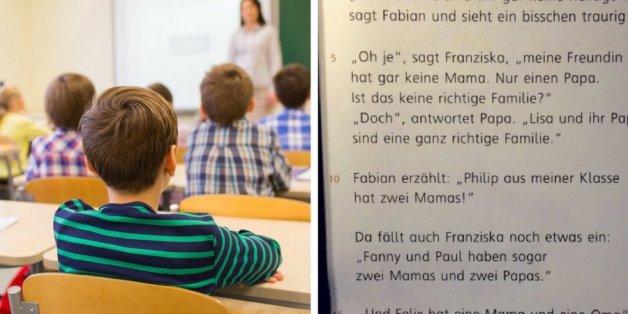 Dieser Text in einem Grundschul-Buch bringt perfekt auf den Punkt, was eine richtige Familie ausmacht
